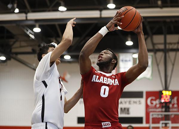Alabama Men's Basketball Falls to Carleton, 84-71