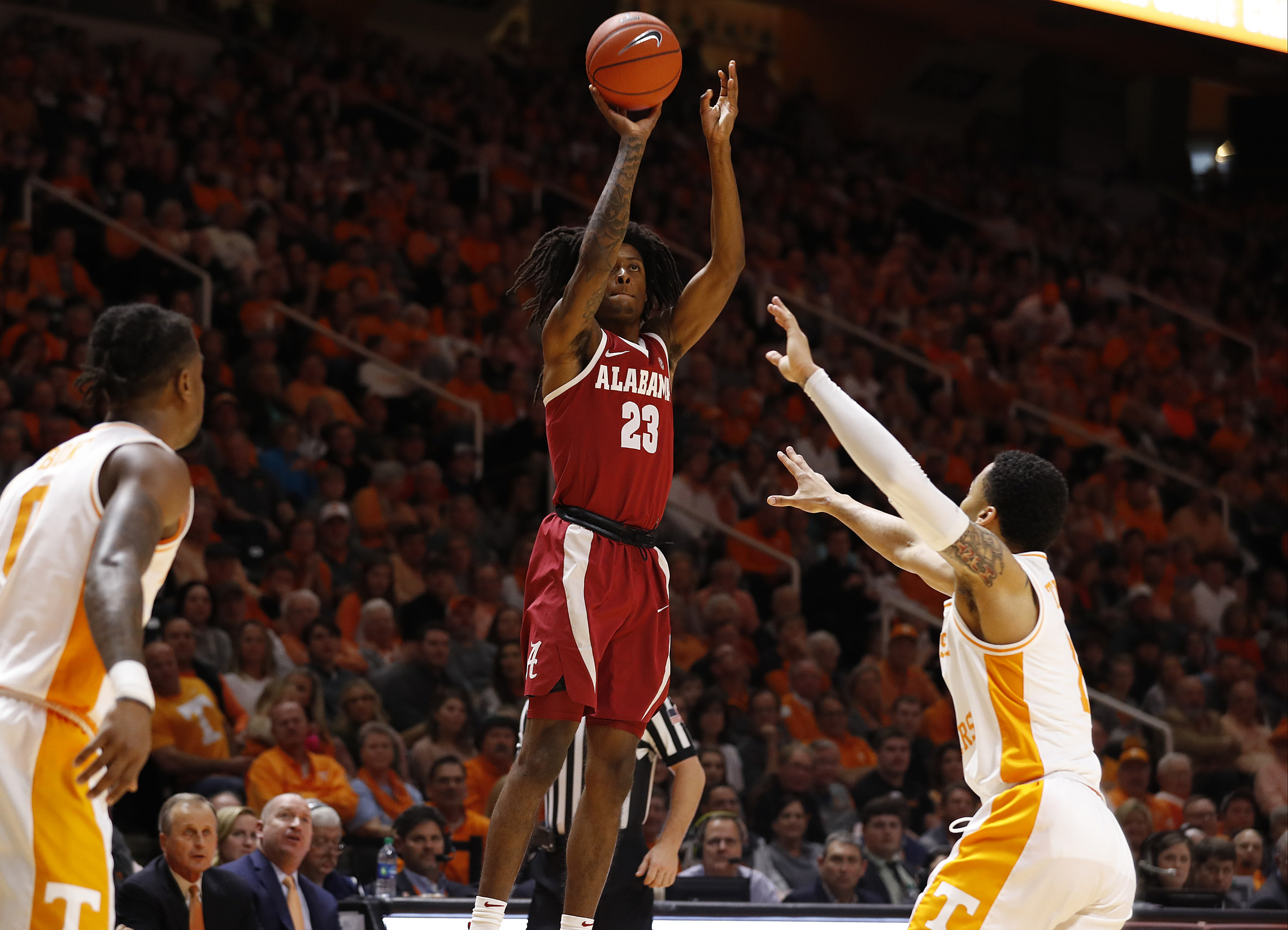 #20/17 Tennessee Lady Vols unable to contain Alabama in 86-65 loss